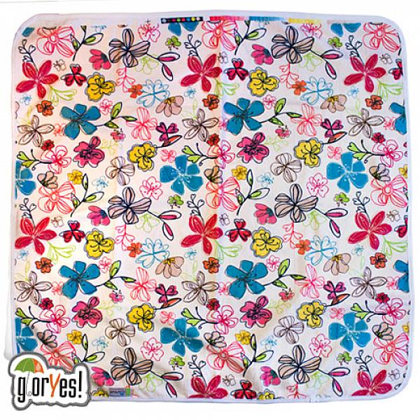 Непромокаемая пеленка GlorYes! Цветы 80х68 смНепромокаемые пеленки<br>&amp;lt;p&amp;gt;Непромокаемая пеленка GlorYes! поможет вам каждый день&amp;lt;strong&amp;gt; во время кормления малыша&amp;lt;/strong&amp;gt; и &amp;lt;strong&amp;gt;переодевания одежды и подгузников&amp;lt;/strong&amp;gt;. Мягкая и дышащая, она будет комфортной для ребенка и защитит от протечек мебель и одежду.&amp;lt;/p&amp;gt;<br><br>&amp;lt;p&amp;gt;В отличие от старого способа &amp;amp;laquo;клеенка + пеленка&amp;amp;raquo;, непромокаемая пеленка имеет один слой, и ваш малыш не окажется на холодной и мокрой клеенке. Она легкая и необъемная, поэтому ее очень удобно захватить с собой в больницу, на массаж, в автокресло и т.д.&amp;lt;/p&amp;gt;<br><br>&amp;lt;p&amp;gt;- &amp;lt;strong&amp;gt;ткань:&amp;lt;/strong&amp;gt; непромокаемый и дышащий слой (PUL) с мягкой плюшевой поверхностью&amp;lt;br /&amp;gt;<br>- &amp;lt;strong&amp;gt;не пропускает влагу&amp;lt;/strong&amp;gt;: кровати и диваны надежно защищены&amp;lt;br /&amp;gt;<br>- &amp;lt;strong&amp;gt;дышит&amp;lt;/strong&amp;gt;: кожа ребенка не преет, малыш не потеет&amp;lt;br /&amp;gt;<br>- &amp;lt;strong&amp;gt;легко стирается&amp;lt;/strong&amp;gt; и быстро сохнет&amp;lt;br /&amp;gt;<br>- &amp;lt;strong&amp;gt;выдерживает более 2000 стирок&amp;lt;/strong&amp;gt;,&amp;amp;nbsp;не линяет и не теряет яркости&amp;lt;br /&amp;gt;<br>- &amp;lt;strong&amp;gt;используйте &amp;lt;/strong&amp;gt;для подстраховки при переодевании подгузника, при кормлении, срыгиваниях, в качестве коврика. Постелите в коляску, автокресло, положите на развивающий коврик, в кроватку и на пеленальный столик&amp;lt;br /&amp;gt;<br>- &amp;lt;strong&amp;gt;необъемная&amp;lt;/strong&amp;gt;: удобно брать с собой&amp;lt;br /&amp;gt;<br>- в течение дня ее можно протереть и продолжить использовать снова&amp;lt;br /&amp;gt;<br>- &amp;lt;strong&amp;gt;размер&amp;lt;/strong&amp;gt;: 80х68 см&amp;lt;/p&amp;gt;<br><br>&amp;lt;p&amp;gt;&amp;lt;strong&amp;gt;Как ухаживать: &amp;lt;