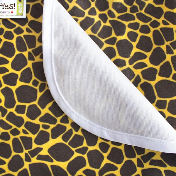 Непромокаемая пеленка GlorYes! Жираф 80х68 смНепромокаемые пеленки<br>&amp;lt;p&amp;gt;Непромокаемая пеленка GlorYes! поможет вам каждый день&amp;lt;strong&amp;gt; во время кормления малыша&amp;lt;/strong&amp;gt; и &amp;lt;strong&amp;gt;переодевания одежды и подгузников&amp;lt;/strong&amp;gt;. Мягкая и дышащая, она будет комфортной для ребенка и защитит от протечек мебель и одежду.&amp;lt;/p&amp;gt;<br> <br> &amp;lt;p&amp;gt;В отличие от старого способа &amp;amp;laquo;клеенка + пеленка&amp;amp;raquo;, непромокаемая пеленка имеет один слой, и ваш малыш не окажется на холодной и мокрой клеенке. Она легкая и необъемная, поэтому ее очень удобно захватить с собой в больницу, на массаж, в автокресло и т.д.&amp;lt;/p&amp;gt;<br> <br> &amp;lt;p&amp;gt;- &amp;lt;strong&amp;gt;ткань:&amp;lt;/strong&amp;gt; непромокаемый и дышащий слой (PUL) с мягкой плюшевой поверхностью&amp;lt;br /&amp;gt;<br> - &amp;lt;strong&amp;gt;не пропускает влагу&amp;lt;/strong&amp;gt;: кровати и диваны надежно защищены&amp;lt;br /&amp;gt;<br> - &amp;lt;strong&amp;gt;дышит&amp;lt;/strong&amp;gt;: кожа ребенка не преет, малыш не потеет&amp;lt;br /&amp;gt;<br> - &amp;lt;strong&amp;gt;легко стирается&amp;lt;/strong&amp;gt; и быстро сохнет&amp;lt;br /&amp;gt;<br> - &amp;lt;strong&amp;gt;выдерживает более 2000 стирок&amp;lt;/strong&amp;gt;,&amp;amp;nbsp;не линяет и не теряет яркости&amp;lt;br /&amp;gt;<br> - &amp;lt;strong&amp;gt;используйте &amp;lt;/strong&amp;gt;для подстраховки при переодевании подгузника, при кормлении, срыгиваниях, в качестве коврика. Постелите в коляску, автокресло, положите на развивающий коврик, в кроватку и на пеленальный столик&amp;lt;br /&amp;gt;<br> - &amp;lt;strong&amp;gt;необъемная&amp;lt;/strong&amp;gt;: удобно брать с собой&amp;lt;br /&amp;gt;<br> - в течение дня ее можно протереть и продолжить использовать снова&amp;lt;br /&amp;gt;<br> - &amp;lt;strong&amp;gt;размер&amp;lt;/strong&amp;gt;: 80х68 см&amp;lt;/p&amp;gt;<br> <br> &amp;lt;p&amp;gt;&amp;lt;strong&amp;gt;Как ухажи