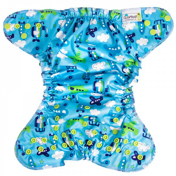 Многоразовый подгузник GlorYes! для плавания Летчик 3-18 кгМногоразовые подгузники<br>&amp;lt;p&amp;gt;Каждому маленькому пловцу пригодятся надежные, удобные и красивые многоразовые трусики для плавания GlorYes!, которые можно надеть в бассейн или на пляж!&amp;lt;/p&amp;gt;<br><br>&amp;lt;p&amp;gt;Подгузники для плавания GlorYes! являются отличной альтернативой одноразовым трусикам&amp;amp;nbsp;для плавания&amp;amp;nbsp;и &amp;lt;strong&amp;gt;сэкономят немало средств молодой семье, так как их можно стирать более 2000 раз&amp;lt;/strong&amp;gt; и использовать снова и снова!&amp;lt;/p&amp;gt;<br><br>&amp;lt;p&amp;gt;&amp;lt;strong&amp;gt;Мягкие резиночки вокруг ног и на талии&amp;lt;/strong&amp;gt; делают подгузник удобным и позволяют надежно выполнять свою главную функцию &amp;amp;ndash; задерживание &amp;amp;ldquo;покаков&amp;amp;rdquo; во время плавания.&amp;lt;/p&amp;gt;<br><br>&amp;lt;p&amp;gt;Нужно быстро очистить их во время сеанса купания? Легко! Просто прополощите их под краном с жидким мылом и вновь наденьте на малыша.&amp;lt;/p&amp;gt;<br><br>&amp;lt;p&amp;gt;- удобные и легкие&amp;lt;br /&amp;gt;<br>- не впитывают воду и не разбухают в воде&amp;lt;br /&amp;gt;<br>- надежно задерживают &amp;amp;ldquo;покаки&amp;amp;rdquo; внутри подгузника&amp;lt;br /&amp;gt;<br>- имеют универсальный регулируемый размер (0-4 года)&amp;lt;br /&amp;gt;<br>- внутри - легкая сетка, пропускающая воду; снаружи - дышащий тонкий слой&amp;lt;br /&amp;gt;<br>- легко стираются и очень быстро сохнут&amp;lt;br /&amp;gt;<br>- большая экономия&amp;lt;br /&amp;gt;<br>- стильные дизайнерские расцветки&amp;lt;br /&amp;gt;<br>- можно надевать как трусики, не расстегивая кнопки&amp;lt;/p&amp;gt;<br><br>&amp;lt;p&amp;gt;&amp;lt;strong&amp;gt;Как ухаживать? &amp;lt;/strong&amp;gt;&amp;lt;/p&amp;gt;<br><br>&amp;lt;p&amp;gt;1) можно стирать в машине или руками при температуре не выше 40&amp;amp;ordm; С&amp;lt;br /&amp;gt;<br>2) допускается щадящая сушка в машине&amp;lt;br /&amp;gt;<br>3) нельзя г