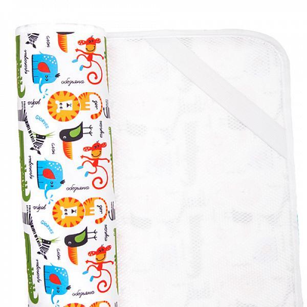 Наматрасник GlorYes! Сафари 120х60 смНаматрасники<br>&amp;lt;p&amp;gt;Если ваш малыш спит в кроватке стандартного размера 120x60 (за счет эластичных резинок подойдет и для размера 125x65 см), то лучший способ защитить кровать от влаги &amp;amp;ndash; это непромокаемый дышащий наматрасник GlorYes!&amp;lt;/p&amp;gt;<br> <br> &amp;lt;p&amp;gt;Вы заметите, что он &amp;lt;strong&amp;gt;не смещается с матраца&amp;lt;/strong&amp;gt;, позволяет коже малыша &amp;lt;strong&amp;gt;дышать&amp;lt;/strong&amp;gt;, приятный и теплый для кожи и &amp;lt;strong&amp;gt;не создает острых углов&amp;lt;/strong&amp;gt;, как обычные клеенки.&amp;lt;/p&amp;gt;<br> <br> &amp;lt;p&amp;gt;&amp;lt;strong&amp;gt;верхний мягкий и дышащий водонепроницаемый слой &amp;lt;/strong&amp;gt;(полиэстер) с красивыми расцветками&amp;lt;br /&amp;gt;<br> &amp;lt;strong&amp;gt;нижний 3D слой против скольжения&amp;lt;/strong&amp;gt; по матрацу&amp;lt;br /&amp;gt;<br> &amp;lt;strong&amp;gt;хорошая вентиляция воздуха&amp;lt;/strong&amp;gt;:&amp;amp;nbsp;кожа малыша не преет&amp;lt;br /&amp;gt;<br> &amp;lt;strong&amp;gt;не сминается&amp;lt;/strong&amp;gt; и не смещается:&amp;amp;nbsp;закрепляется за все 4 стороны матраца эластичными резинками&amp;lt;br /&amp;gt;<br> &amp;lt;strong&amp;gt;не шуршит&amp;lt;/strong&amp;gt; за счет мягкого верхнего слоя&amp;lt;br /&amp;gt;<br> приятный для тела и &amp;lt;strong&amp;gt;нехолодный&amp;lt;/strong&amp;gt;: на него можно положить малыша без одежды во время игры&amp;lt;br /&amp;gt;<br> &amp;lt;strong&amp;gt;очень хорошо отстирывается&amp;lt;/strong&amp;gt; и быстро сохнет&amp;lt;br /&amp;gt;<br> выдерживает более 2000 стирок&amp;amp;nbsp;&amp;lt;br /&amp;gt;<br> &amp;lt;strong&amp;gt;размер&amp;lt;/strong&amp;gt;: 120x60 см (подходит для стандартных кроваток 120х60 и 125х65 см)&amp;lt;/p&amp;gt;<br> <br> &amp;lt;p&amp;gt;&amp;lt;strong&amp;gt;Как ухаживать:&amp;lt;/strong&amp;gt;&amp;lt;/p&amp;gt;<br> <br> &amp;lt;p&amp;gt;1) максимальная температура стирки: 40&amp;amp;deg;