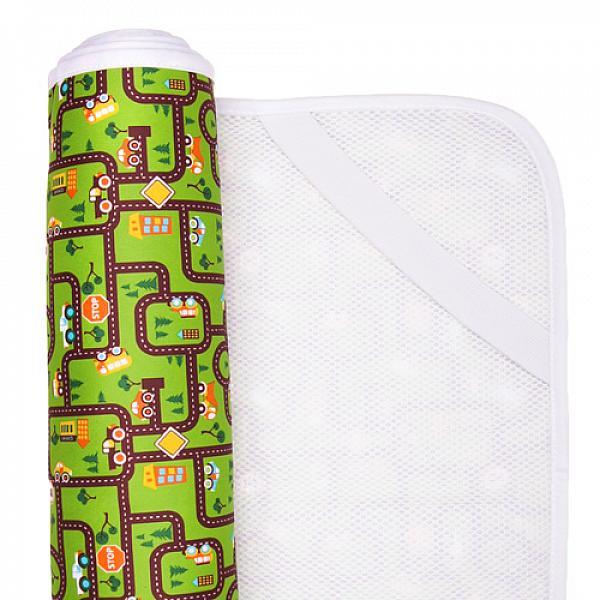 Наматрасник GlorYes! Город 120х60 смНаматрасники<br>&amp;lt;p&amp;gt;Если ваш малыш спит в кроватке стандартного размера 120x60 (за счет эластичных резинок подойдет и для размера 125x65 см), то лучший способ защитить кровать от влаги &amp;amp;ndash; это непромокаемый дышащий наматрасник GlorYes!&amp;lt;/p&amp;gt;<br> <br> &amp;lt;p&amp;gt;Вы заметите, что он &amp;lt;strong&amp;gt;не смещается с матраца&amp;lt;/strong&amp;gt;, позволяет коже малыша &amp;lt;strong&amp;gt;дышать&amp;lt;/strong&amp;gt;, приятный и теплый для кожи и &amp;lt;strong&amp;gt;не создает острых углов&amp;lt;/strong&amp;gt;, как обычные клеенки.&amp;lt;/p&amp;gt;<br> <br> &amp;lt;p&amp;gt;&amp;lt;strong&amp;gt;верхний мягкий и дышащий водонепроницаемый слой &amp;lt;/strong&amp;gt;(полиэстер) с красивыми расцветками&amp;lt;br /&amp;gt;<br> &amp;lt;strong&amp;gt;нижний 3D слой против скольжения&amp;lt;/strong&amp;gt; по матрацу&amp;lt;br /&amp;gt;<br> &amp;lt;strong&amp;gt;хорошая вентиляция воздуха&amp;lt;/strong&amp;gt;:&amp;amp;nbsp;кожа малыша не преет&amp;lt;br /&amp;gt;<br> &amp;lt;strong&amp;gt;не сминается&amp;lt;/strong&amp;gt; и не смещается:&amp;amp;nbsp;закрепляется за все 4 стороны матраца эластичными резинками&amp;lt;br /&amp;gt;<br> &amp;lt;strong&amp;gt;не шуршит&amp;lt;/strong&amp;gt; за счет мягкого верхнего слоя&amp;lt;br /&amp;gt;<br> приятный для тела и &amp;lt;strong&amp;gt;нехолодный&amp;lt;/strong&amp;gt;: на него можно положить малыша без одежды во время игры&amp;lt;br /&amp;gt;<br> &amp;lt;strong&amp;gt;очень хорошо отстирывается&amp;lt;/strong&amp;gt; и быстро сохнет&amp;lt;br /&amp;gt;<br> выдерживает более 2000 стирок&amp;amp;nbsp;&amp;lt;br /&amp;gt;<br> &amp;lt;strong&amp;gt;размер&amp;lt;/strong&amp;gt;: 120x60 см (подходит для стандартных кроваток 120х60 и 125х65 см)&amp;lt;/p&amp;gt;<br> <br> &amp;lt;p&amp;gt;&amp;lt;strong&amp;gt;Как ухаживать:&amp;lt;/strong&amp;gt;&amp;lt;/p&amp;gt;<br> <br> &amp;lt;p&amp;gt;1) максимальная температура стирки: 40&amp;amp;deg;С