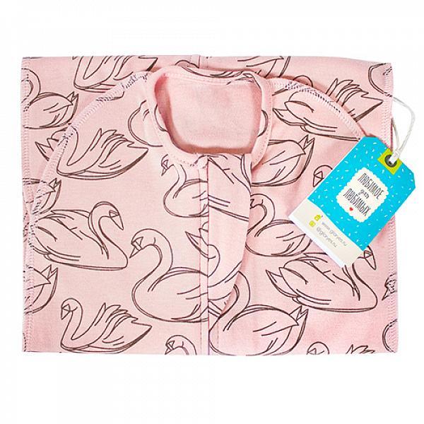 Пеленка-кокон GlorYes! (0-3,5 мес.) ЛебедиПеленки<br>&amp;lt;p&amp;gt;Обеспечьте спокойный сон вашему малышу с рождения до 3,5 месяцев с помощью комфортного, тянущегося спального мешка в виде кокона на замочке.&amp;lt;/p&amp;gt;<br><br>&amp;lt;p&amp;gt;Он облегает тело малыша, словно мамины руки, успокаивает его и сдерживает вздрагивания и движения ручек, при этом не препятствуя движениям ножек.&amp;lt;/p&amp;gt;<br><br>&amp;lt;p&amp;gt;Пеленка-кокон понравится и папам&amp;amp;nbsp;как простой и быстрый способ свободного пеленания!&amp;lt;/p&amp;gt;<br><br>&amp;lt;p&amp;gt;&amp;lt;strong&amp;gt;Безопасность сна&amp;lt;/strong&amp;gt;: малыш&amp;amp;nbsp;не запутается и не перегреется в мешке, как в одеяле&amp;lt;br /&amp;gt;<br>&amp;lt;strong&amp;gt;Удобство при смене подгузника&amp;lt;/strong&amp;gt;: двойная застежка позволяет поменять подгузник, расстегнув только нижнюю часть мешка и не тревожа сон малыша&amp;lt;br /&amp;gt;<br>&amp;lt;strong&amp;gt;Спокойный сон&amp;lt;/strong&amp;gt;: эластичность и идеальная форма мешка создают необходимый комфорт ребенку&amp;lt;br /&amp;gt;<br>&amp;lt;strong&amp;gt;Длина&amp;lt;/strong&amp;gt;: 55 см&amp;lt;/p&amp;gt;<br><br>&amp;lt;p&amp;gt;&amp;lt;strong&amp;gt;Как ухаживать: &amp;lt;/strong&amp;gt;стирать при температуре не выше 40&amp;amp;deg;С, можно гладить&amp;lt;/p&amp;gt;<br><br>&amp;lt;p&amp;gt;&amp;lt;strong&amp;gt;Состав&amp;lt;/strong&amp;gt;: 93% хлопок, 7% спандекс&amp;lt;/p&amp;gt;<br>