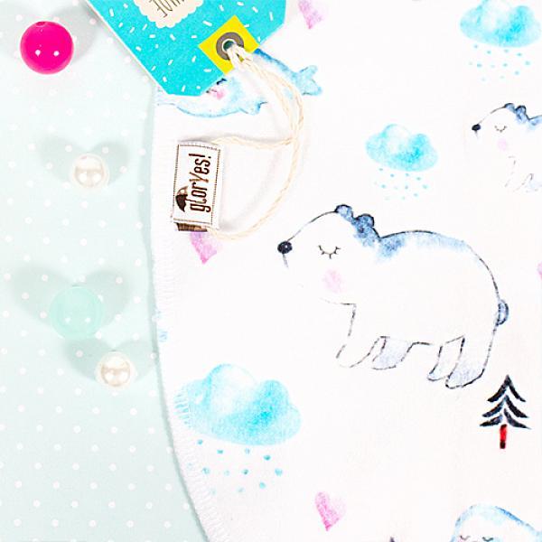 Пеленка-кокон GlorYes! (0-3,5 мес.) МишкиПеленки<br>&amp;lt;p&amp;gt;Обеспечьте спокойный сон вашему малышу с рождения до 3,5 месяцев с помощью комфортного, тянущегося спального мешка в виде кокона на замочке.&amp;lt;/p&amp;gt;<br><br>&amp;lt;p&amp;gt;Он облегает тело малыша, словно мамины руки, успокаивает его и сдерживает вздрагивания и движения ручек, при этом не препятствуя движениям ножек.&amp;lt;/p&amp;gt;<br><br>&amp;lt;p&amp;gt;Пеленка-кокон понравится и папам&amp;amp;nbsp;как простой и быстрый способ свободного пеленания!&amp;lt;/p&amp;gt;<br><br>&amp;lt;p&amp;gt;&amp;lt;strong&amp;gt;Безопасность сна&amp;lt;/strong&amp;gt;: малыш&amp;amp;nbsp;не запутается и не перегреется в мешке, как в одеяле&amp;lt;br /&amp;gt;<br>&amp;lt;strong&amp;gt;Удобство при смене подгузника&amp;lt;/strong&amp;gt;: двойная застежка позволяет поменять подгузник, расстегнув только нижнюю часть мешка и не тревожа сон малыша&amp;lt;br /&amp;gt;<br>&amp;lt;strong&amp;gt;Спокойный сон&amp;lt;/strong&amp;gt;: эластичность и идеальная форма мешка создают необходимый комфорт ребенку&amp;lt;br /&amp;gt;<br>&amp;lt;strong&amp;gt;Длина&amp;lt;/strong&amp;gt;: 55 см&amp;lt;/p&amp;gt;<br><br>&amp;lt;p&amp;gt;&amp;lt;strong&amp;gt;Как ухаживать: &amp;lt;/strong&amp;gt;стирать при температуре не выше 40&amp;amp;deg;С, можно гладить&amp;lt;/p&amp;gt;<br><br>&amp;lt;p&amp;gt;&amp;lt;strong&amp;gt;Состав&amp;lt;/strong&amp;gt;: 93% хлопок, 7% спандекс&amp;lt;/p&amp;gt;<br>