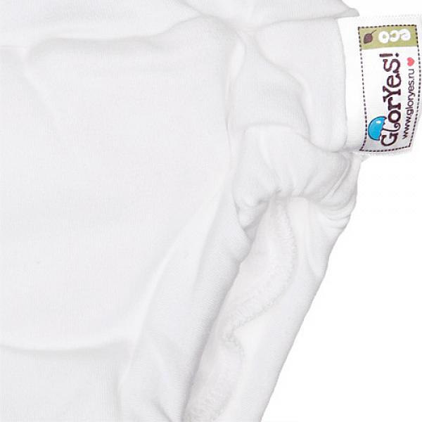 Хлопковые трусики для приучения к горшку GlorYes! L Белые 14-20 кгТрусики<br>&amp;lt;p&amp;gt;Трусики для приучения к горшку из хлопка &amp;amp;ndash; это ваш секретный способ приучить малыша к горшку и одновременно защитить мебель и одежду от влаги.&amp;amp;nbsp;Трусики рекомендуются&amp;amp;nbsp;для детей от 1,5 до 3-4 лет, которые уже начали ходить на горшок самостоятельно, но периодически забывают это сделать вовремя.&amp;lt;/p&amp;gt;<br><br>&amp;lt;p&amp;gt;&amp;lt;strong&amp;gt;максимально схожи с обычными трусиками&amp;lt;/strong&amp;gt; - малыш будет думать, что на нем надеты трусики, которые протекут и в которых будет неприятно&amp;lt;br /&amp;gt;<br>&amp;lt;strong&amp;gt;ткани&amp;lt;/strong&amp;gt;: внутренний и внешний слои из хлопка, тонкий и дышащий промежуточный слой с водонепроницаемой мембраной и впитывающий слой из микрофибры в области ластовицы между ног&amp;lt;br /&amp;gt;<br>&amp;lt;strong&amp;gt;впитывают ограниченное количество влаги&amp;lt;/strong&amp;gt;, то есть ими нельзя заменить подгузник&amp;lt;br /&amp;gt;<br>&amp;lt;strong&amp;gt;размер&amp;lt;/strong&amp;gt;: L (от 14 до 20 кг). Обхват вокруг ножек около 25-26 см; расстояние боковины от талии до ножки 9 см, вокруг талии около 40 см.&amp;lt;br /&amp;gt;<br>&amp;lt;strong&amp;gt;натуральные ткани&amp;lt;/strong&amp;gt; (используется 100 % хлопок)&amp;lt;br /&amp;gt;<br>&amp;lt;strong&amp;gt;экономные&amp;lt;/strong&amp;gt;: можно стирать и использовать много раз&amp;lt;br /&amp;gt;<br>&amp;lt;strong&amp;gt;легко стираются&amp;lt;/strong&amp;gt; и&amp;amp;nbsp;выдерживают более 2000 стирок&amp;lt;br /&amp;gt;<br>&amp;lt;strong&amp;gt;эластичные резинки &amp;lt;/strong&amp;gt;вокруг ножек и талии&amp;lt;/p&amp;gt;<br><br>&amp;lt;p&amp;gt;Трусики не рекомендуются&amp;amp;nbsp;на сон ночью и днем, используются для небольшого объема жидкости. Если требуется впитать большой объем, рекомендуем использовать &amp;lt;a href=http://gloryes.ru/diapers/bamboo target=_blank&amp;gt;подгузники для пр