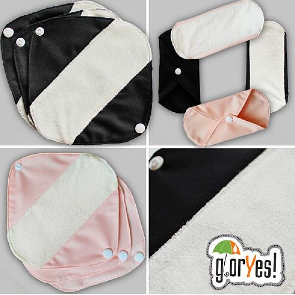 Ежедневные прокладки GlorYes! Белые 3 штуки