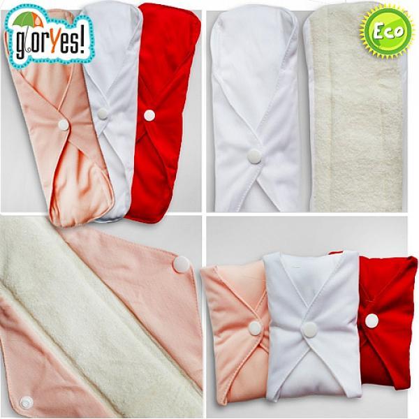 Гигиенические прокладки GlorYes! Белые 3 штуки