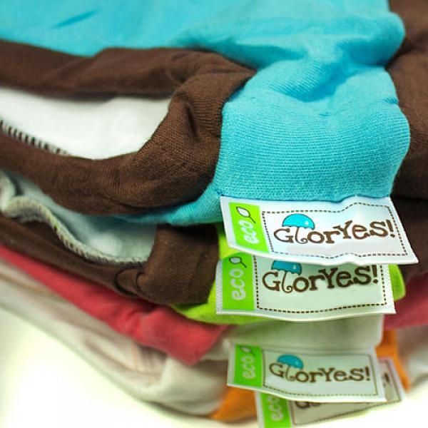 Хлопковые трусики для приучения к горшку GlorYes! S/M Бело-голубые 10-16 кг от GlorYes!