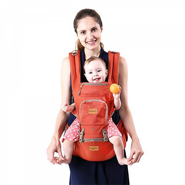 Купить Эрго рюкзак + Хипсит Fresh Shine Premium Терракот, GlorYes!