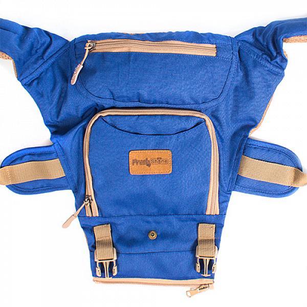 Купить Эрго рюкзак + Хипсит Fresh Shine Premium Индиго, GlorYes!