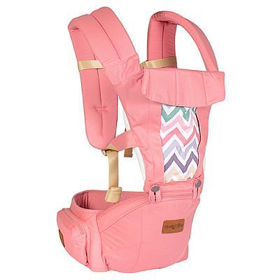 Эрго рюкзак + Хипсит Fresh Shine Premium Organic Фламинго