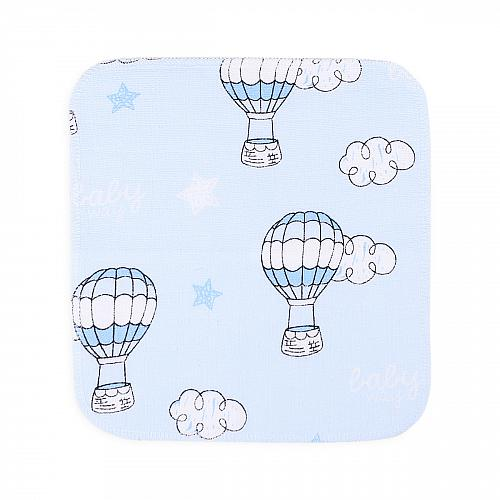 Голубые воздушные шары