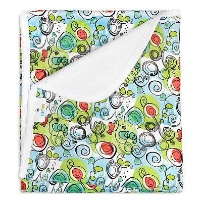 Непромокаемая пеленка GlorYes! Весенняя 80х68 см