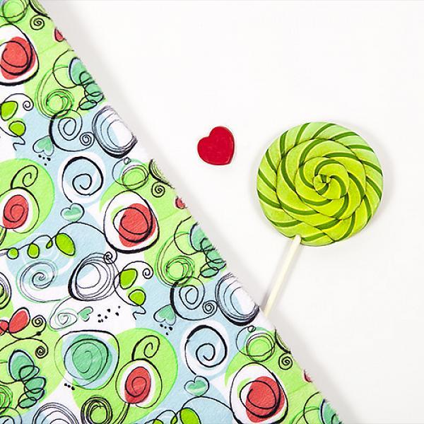Купить Непромокаемая пеленка GlorYes! Весенняя 80х68 см, GlorYes!
