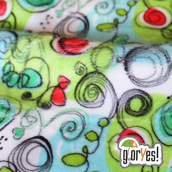 Непромокаемая пеленка GlorYes! Весенняя 80х68 см от GlorYes!