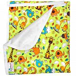 Непромокаемая пеленка GlorYes! Жирафы 80х68 см