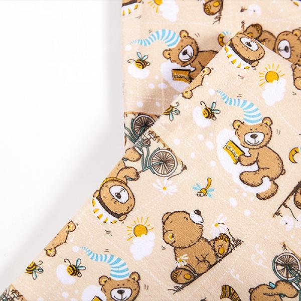 Купить Непромокаемая пеленка GlorYes! Медвежонок 80х68 см, GlorYes!