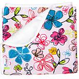 Непромокаемая пеленка GlorYes! Цветы 80х68 см