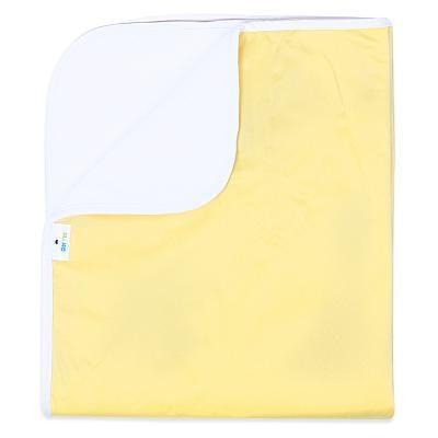 Впитывающая пеленка GlorYes! Нежно-желтая 120х100 см