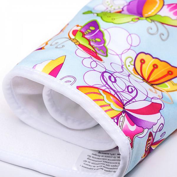 Впитывающая пеленка GlorYes! Бабочки 80х68 см