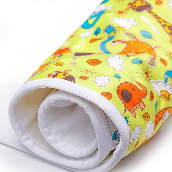Купить Впитывающая пеленка GlorYes! Жирафы 80х68 см