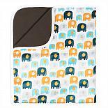 Впитывающая пеленка GlorYes! PREMIUM Добрые слонята 80х68 см