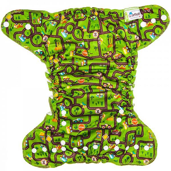 Многоразовый подгузник GlorYes! для приучения к горшку NEW Город 3-18 кг + два вкладыша от GlorYes!