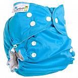 Многоразовый подгузник GlorYes! для приучения к горшку NEW Синий 3-18 кг + два вкладыша