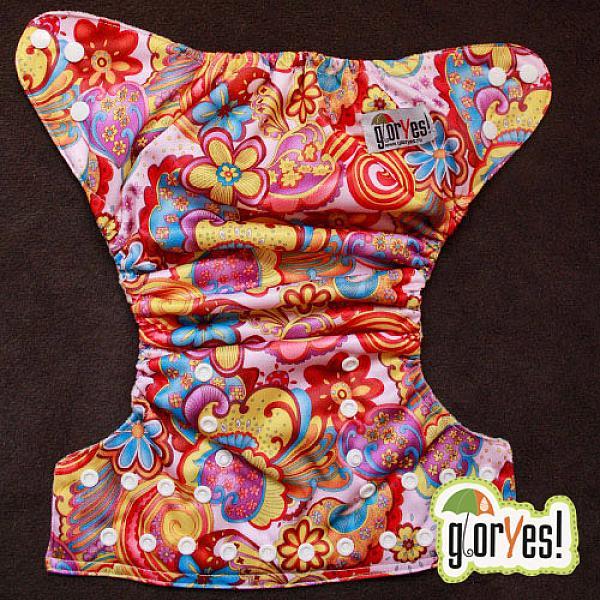 Купить Многоразовый подгузник GlorYes! для приучения к горшку Лето 3-15 кг + два вкладыша, GlorYes!