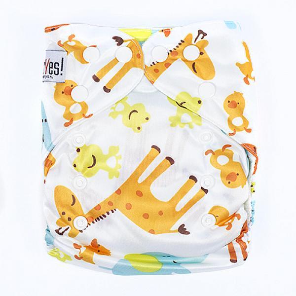 Купить Многоразовый подгузник GlorYes! для приучения к горшку Жираф 3-15 кг + два вкладыша, GlorYes!