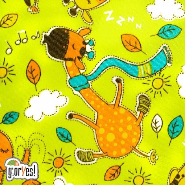 Купить Многоразовый подгузник GlorYes! для приучения к горшку Жирафы 3-15 кг + два вкладыша, GlorYes!