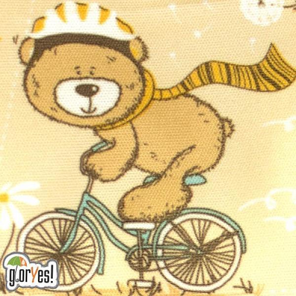 Купить Многоразовый подгузник GlorYes! для приучения к горшку Медвежонок 3-15 кг + два вкладыша, GlorYes!