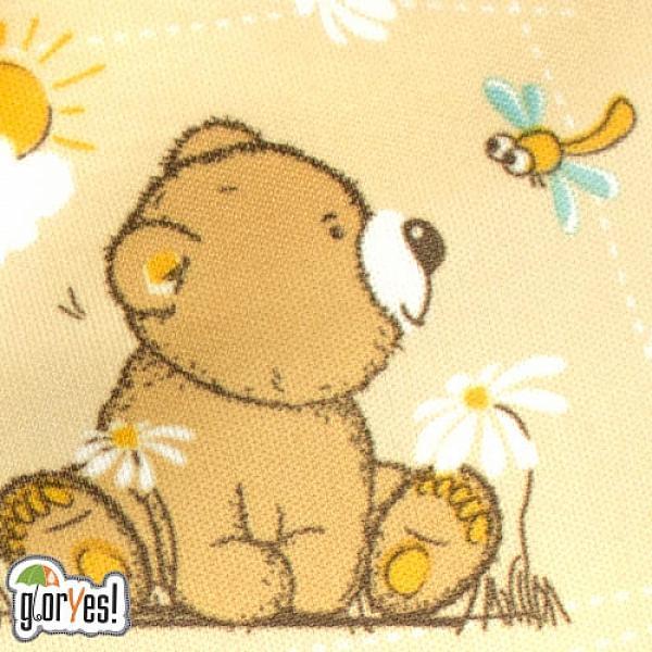 Многоразовый подгузник GlorYes! для приучения к горшку Медвежонок 3-15 кг + два вкладыша от GlorYes!