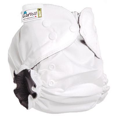 Многоразовый подгузник GlorYes! OPTIMA NEW Белый 3-18 кг + два вкладыша