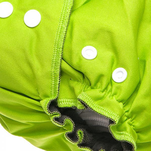 Многоразовый подгузник GlorYes! OPTIMA NEW Зеленый 3-18 кг + два вкладыша от GlorYes!