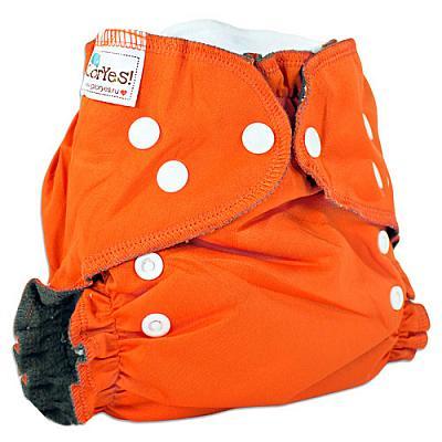 Многоразовый подгузник GlorYes! OPTIMA NEW Апельсин 3-18 кг + два вкладыша