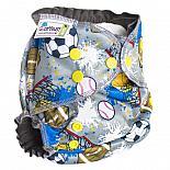 Многоразовый подгузник GlorYes! OPTIMA NEW Мячики 3-18 кг + два вкладыша