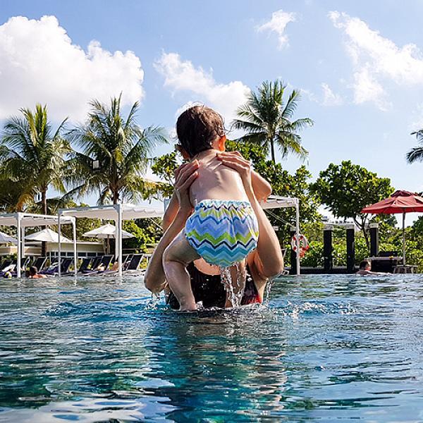 Многоразовый подгузник GlorYes! для плавания Волна 3-18 кг от GlorYes!