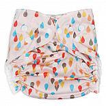 Многоразовый подгузник GlorYes! для плавания Дождик 3-18 кг