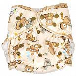 Многоразовый подгузник GlorYes! для плавания Медвежонок 3-18 кг