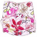 Многоразовый подгузник GlorYes! для плавания Цветы 3-18 кг