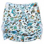 Многоразовый подгузник GlorYes! для плавания Сёрф лагерь 3-18 кг