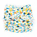 Многоразовый подгузник GlorYes! для плавания Рыбки 3-18 кг