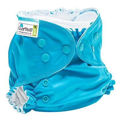 Многоразовый подгузник GlorYes! CLASSIC+ Синий 3-18 кг + два вкладыша