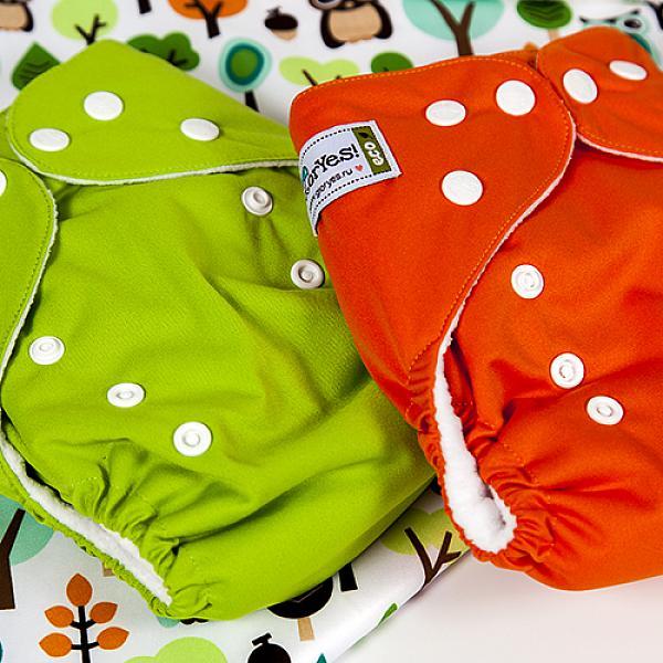 Многоразовый подгузник GlorYes! CLASSIC Зеленый 3-15 кг + один вкладыш от GlorYes!