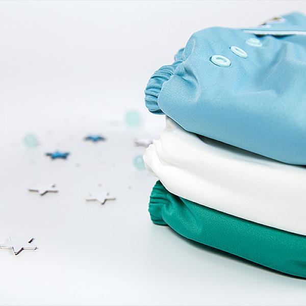 Купить Многоразовый подгузник GlorYes! CLASSIC Морской 3-15 кг + один вкладыш, GlorYes!