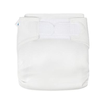 Многоразовый подгузник для новорожденных GlorYes! Белый all-in-one