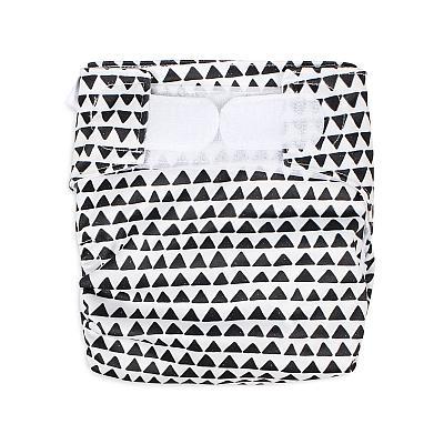 Многоразовый подгузник для новорожденных GlorYes! Треугольнички all-in-one