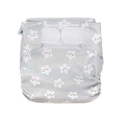 Многоразовый подгузник для новорожденных GlorYes! Звездочки для звездочки all-in-one