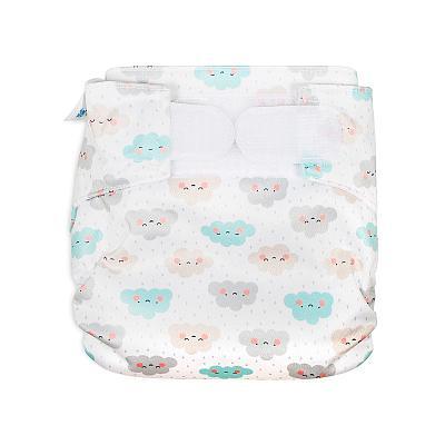 Многоразовый подгузник для новорожденных GlorYes! Облачата all-in-one