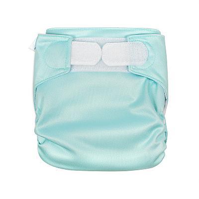 Многоразовый подгузник для новорожденных GlorYes! Мятное счастье all-in-one